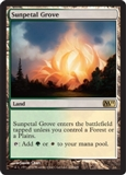 Magic the Gathering 2011 Single Sunpetal Grove UNPLAYED (NM/MT)