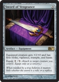 Magic the Gathering 2011 Single Sword of Vengeance UNPLAYED (NM/MT)