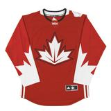 Team Canada World Cup Adidas Red Premier Hockey Jersey (Adult XX-Large)