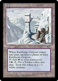 Magic the Gathering Alliances Single Kjeldoran Outpost - NEAR MINT (NM)