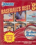 1988 Donruss Baseball's Best Baseball Factory Set