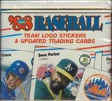 1988 Fleer Update Glossy Baseball Factory Set