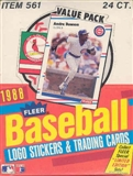 1988 Fleer Baseball Cello Box