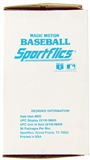 1988 Sportflics Baseball Wax Box