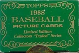 1988 Topps Tiffany Traded & Rookies Baseball Factory Set