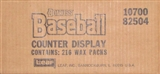 1988 Donruss Baseball Counter Display Box (216 wax packs)