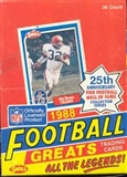 1988 Swell Greats Football Wax Box
