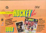 1988/89 O-Pee-Chee Sticker Hockey Box