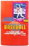 1988 Score Baseball Wax Box