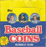1988 Topps Coins Baseball Wax Box