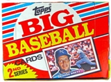 1988 Topps Big Series 2 Baseball Wax Box