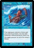 Magic the Gathering Nemesis Single Submerge Foil - NEAR MINT (NM)