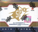 2010 Upper Deck SPx Football Hobby Box