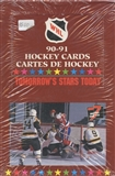 1990/91 7th Inning Sketch WHL Hockey Wax Box