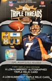2010 Topps Triple Threads Football Hobby Box