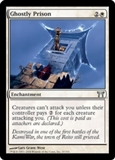 Magic the Gathering Champs of Kamigawa Single Ghostly Prison UNPLAYED (NM/MT)