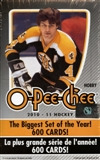 2010/11 Upper Deck O-Pee-Chee Hockey Hobby Box