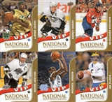 2010 Upper Deck Special National Conv. VIP 6-Card Set w/Jordan, Crosby