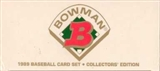 1989 Bowman Tiffany Baseball Factory Set
