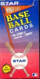1989 Star Minor League Series 1 Baseball Wax Box