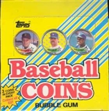 1989 Topps Coins Baseball Wax Box