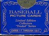 1989 Topps Tiffany Traded & Rookies Baseball Factory Set