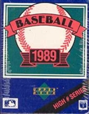 1989 Upper Deck Hi # Baseball Factory Set
