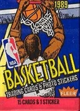 1989/90 Fleer Basketball Wax Pack
