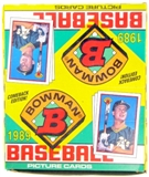 1989 Bowman Baseball Rack Box
