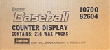 1989 Donruss Baseball Counter Display Box