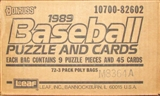 1989 Donruss Baseball Rack Case