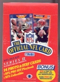1989 Pro Set Series 2 Football Wax Box