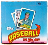 1989 Topps Baseball Cello Box (24 packs)