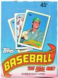 1989 Topps Baseball Wax Box