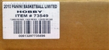2010/11 Panini Limited Basketball Hobby 15-Box Case