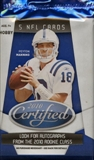 2010 Panini Certified Football Hobby Pack