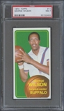 1970/71 Topps Basketball #11 George Wilson PSA 7 (NM) *2493
