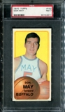 1970/71 Topps Basketball #152 Don May PSA 7 (NM) *2611