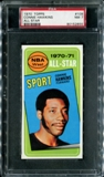 1970/71 Topps Basketball #109 Connie Hawkins All Star PSA 7 (NM) *2855