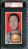 1970/71 Topps Basketball #133 Adrian Smith PSA 8 (NM-MT) *2872