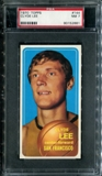 1970/71 Topps Basketball #144 Clyde Lee PSA 7 (NM) *2881