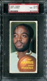 1970/71 Topps Basketball #149 Art Harris PSA 8 (NM-MT) *2889