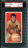 1970/71 Topps Basketball #154 Dave Gambee PSA 8 (NM-MT) *2893
