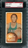 1970/71 Topps Basketball #166 Greg Smith PSA 7 (NM) *2903