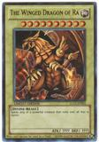 Yu-Gi-Oh Legendary Collection Single The Winged Dragon of Ra Ultra Rare LC01