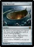 Magic the Gathering Scars of Mirrodin Single Myr Reservoir UNPLAYED (NM/MT)