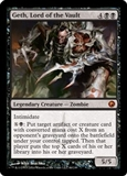 Magic the Gathering Scars of Mirrodin Single Geth, Lord of the Vault FOIL