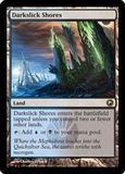 Magic the Gathering Scars of Mirrodin Single Darkslick Shores UNPLAYED (NM/MT)