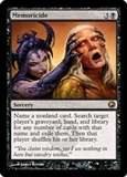 Magic the Gathering Promo Single Memoricide FOIL (Scars of Mirrodin Buy A Box Promo)
