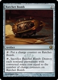 Magic the Gathering Scars of Mirrodin Single Ratchet Bomb FOIL
